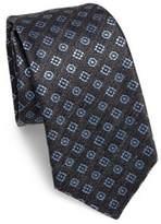 Kiton Floral Double Silk Tie