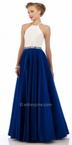 Nika Classic Halter Evening Dress