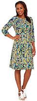 Liz Claiborne New York Heritage Collection Crepe Dress