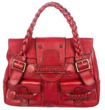 Valentino Leather Histoire Bag
