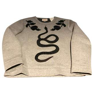 Gucci Grey Cotton Knitwear & Sweatshirts
