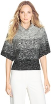 White House Black Market Ombre Chunky Cowl Sweater