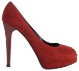 STUART WEITZMAN - Suede court shoe