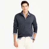 J.Crew Slim merino wool half-zip sweater
