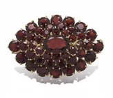 Tatitoto Superstar Women's Brooch in 18k Gold with Garnet, 10 Grams