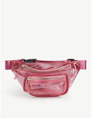 Little Marc Jacobs Kids glitter transparent belt bag