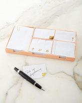 Kate Spade Sticky Note Set, Gold