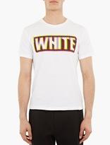 White Mountaineering White 3D Logo Print T-Shirt