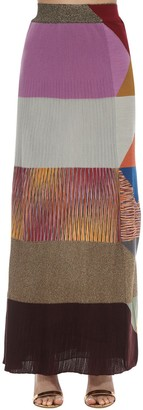Missoni Multicolor Wool Blend Knit Skirt