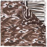 Pierre Louis Mascia Pierre-Louis Mascia - patchwork scarf - unisex - Silk - One Size