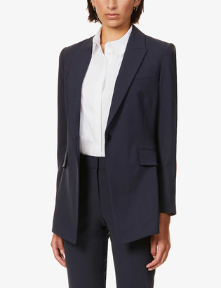 Theory Etiennette single-breasted stretch-wool jacket