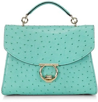 Salvatore Ferragamo Margot Leather Crossbody Bag
