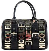 Nicole Lee Women's Hilliard Belt Embellish Boston Bag