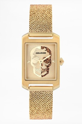 Zadig & Voltaire Timeline Skull Watch