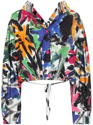Marni Floral cotton jacket