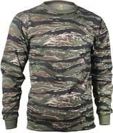 Rothco 66787 Tiger Stripe Long Sleeve T-Shirt