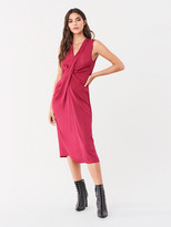 Diane von Furstenberg Katrita Soft Satin Dress