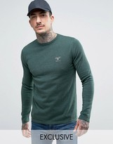Barbour Jumper With Beacon Logo In Green