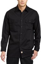 Carhartt Men's Big & Tall Twill Long Sleeve Work Shirt Button Front S224