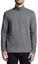 HUGO BOSS BOSS Green C-Piceno Half-Zip Sweatshirt, Navy