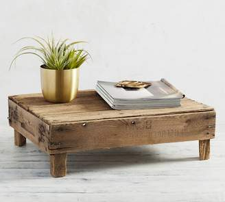 Pottery Barn Found Wooden Crate