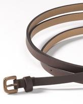 Coldwater Creek Slim double wrap belt
