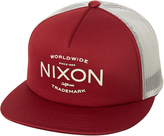 Nixon Ridge Trucker Cap Red