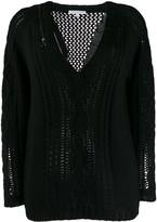 Patrizia Pepe v-neck knit jumper