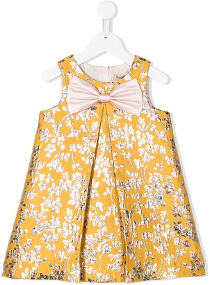 Hucklebones London Floral Brocade Dress
