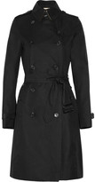 Burberry Cotton-twill long-length trench coat