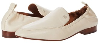 Tory Burch 20 MM Kira Elastic Loafer (New Cream) Women's Shoes