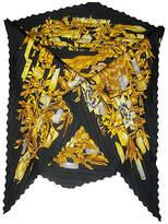 One Kings Lane Vintage Hermès Tuxedo-Pleats Scarf w/Box