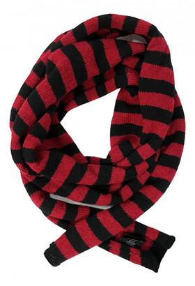 Saint Laurent Black Wool Scarves & pocket squares
