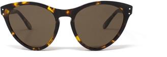 Gucci Gg0569s Havana Sunglasses