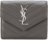Saint Laurent compact tri-fold wallet