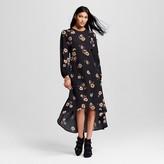 Women's Long Sleeve Crepe Dress - Who What Wear