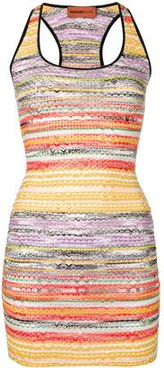 Missoni Mare rainbow knit dress