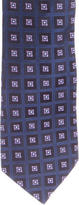 Ike Behar Silk Tile Jacquard Tie
