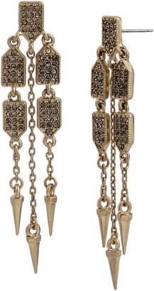 AllSaints Pave Chandelier Earrings