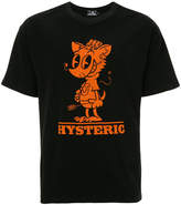 Hysteric Glamour Hysteric cartoon print T-shirt