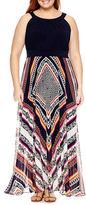 Studio 1 Sleeveless Maxi Dress-Plus