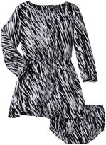 Vince Kids Printed Dress (Baby) - Black / White-24 Months