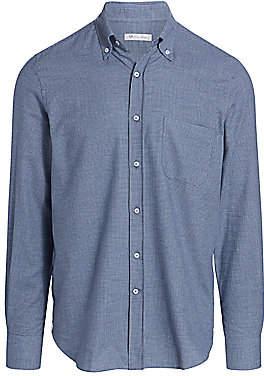 Loro Piana Men's Alfred Houndstooth Shirt