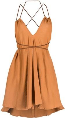 CARAVANA Mahahual cotton-blend dress