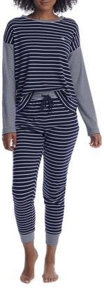 Lauren Ralph Lauren Interlock Knit Pajama Set