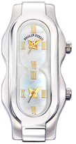 Philip Stein Teslar Stainless Steel & Mother of Pearl Watch Case, 41mm x 19mm