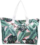 Seafolly CARRIED AWAY PALM BEACH EYELET TOTE Beach accessory moss