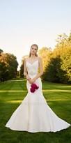 Camille La Vie Mikado Fit and Flare Wedding Dress