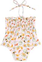Submarine SUSHI-PRINT ONE-PIECE SWIMSUIT