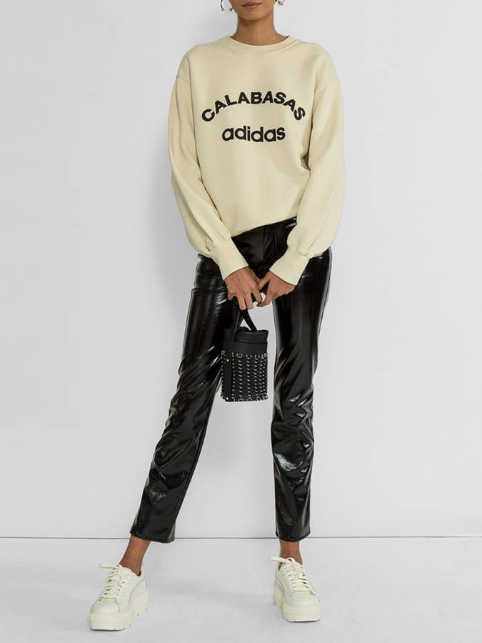 Yeezy Season 5 vinyl trousers